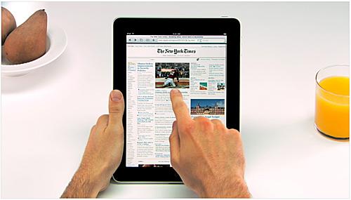 Das iPad von Apple wird die Computerindustrie vorantreiben!