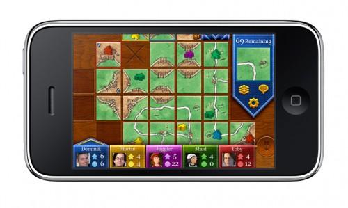 Carcassonne auf dem iPhone spielen, auch für iPod touch