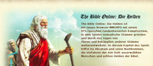 Die Bibel Online Browser Game