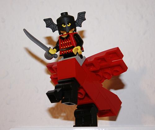 Lego Genius - Mischwesen mit Flügeln